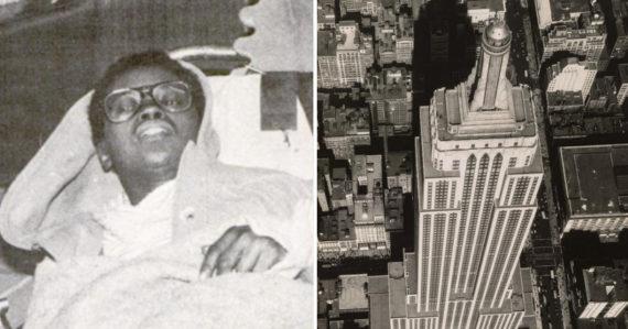 Chcela spáchať samovraždu, a tak skočila z Empire State Building. Elvita Adamsová je jediná žena, ktorá to prežila