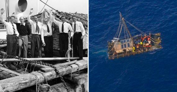 Jedna z najšialenejších expedícií Kon-Tiki: Nór dokázal na plti preplávať Tichý oceán z Peru do Polynézie