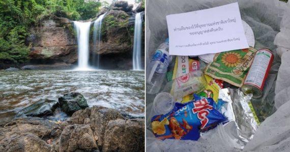 Thajský národný park si s neporiadnymi turistami poradil po svojom. Odpadky im posiela domov poštou