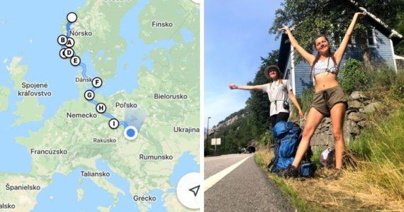 Počas pandémie šli stopom z Nórska domov: Dve Slovenky sa podujali na cestu plnú zážitkov bez akejkoľvek prípravy
