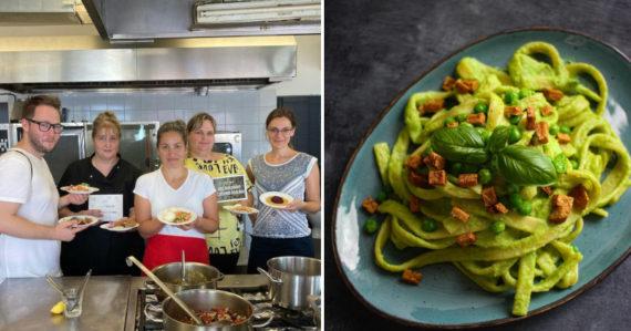 Ananásové kari aj hokkaido paprikáš. Projekt Zelená jedáleň prináša do slovenských škôl rastlinné a chutné jedlá