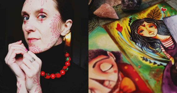 Lucy odišla z korporátu, aby sa naplno mohla venovať umeniu: Svoju značku som si budovala cez 10 rokov