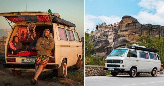 Patrícia a Tomáš si prerobili dodávku na obytný van: Naše prvé auto stálo 300 eur a bolo nepojazdné