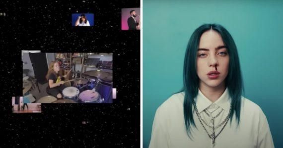YouTube zverejnil prvé nekonečné video. Vychádza z úspešného hitu Billie Eilish a trvá dlhšie než životnosť vesmíru