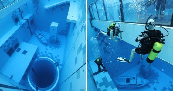 Atrakcia pre milovníkov adrenalínu: V Poľsku otvorili najhlbší bazén sveta, cena vstupného prekvapí