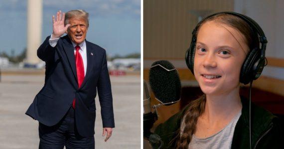 Greta si odchod Donalda Trumpa vychutnala. Na cestu z Bieleho domu mu venovala štipľavú poznámku