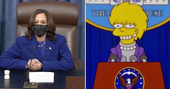 Predpoveď Simpsonovcov sa opäť naplnila. Predvídali, že viceprezidentkou USA sa stane Kamala Harris