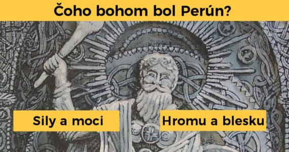 Poznáte mytológiu našich dávnych predkov? Tento kvíz o slovanských bohoch zvládne na 100 % iba málokto