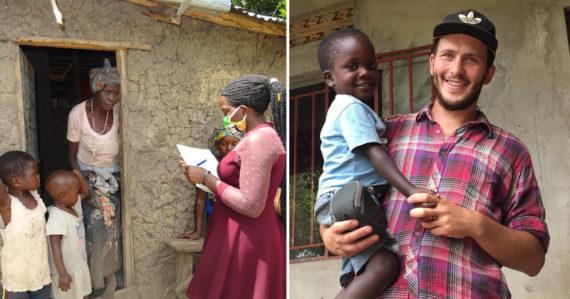 Dobrovoľník Patrik: 10 eur je v Ugande dobrý zárobok, žije z nich celá rodina. Po vypuknutí pandémie ľudia hladovali